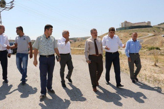 Büyükşehir yetkilileri Kula'da incelemelerde bulundu
