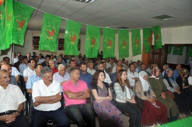 DBP Eş Genel Başkanı Tuncel Bulanık'ta
