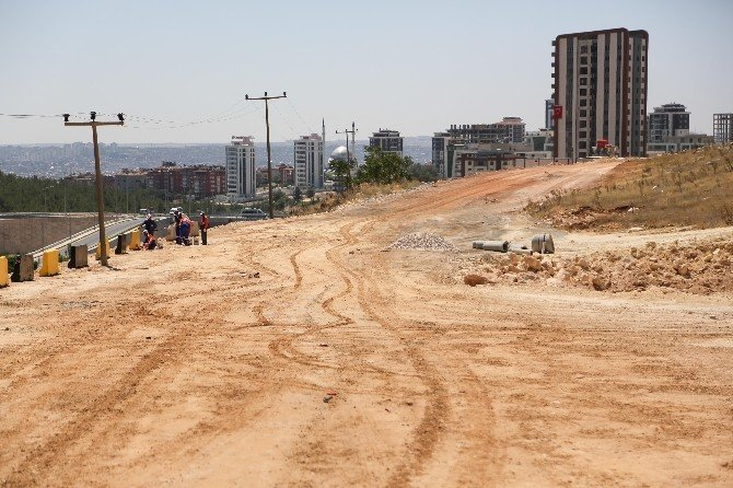 Fadıloğlu, Şehirgösteren'deki yol çalışmalarını inceledi