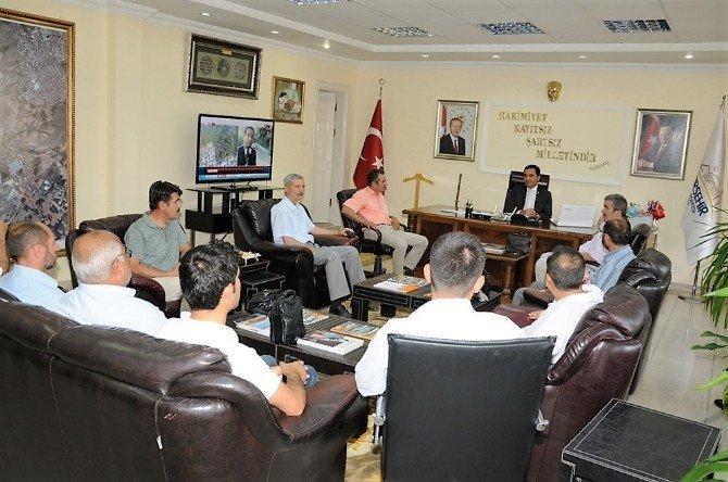 STK temsilcileri Belediye Başkanını ziyaret etti