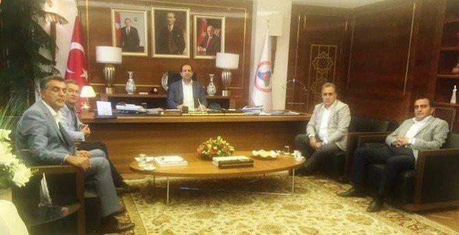 Van TSO yönetimi Ankara'da