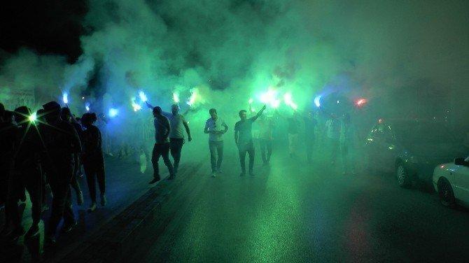 Gebzespor demokrasi nöbetine katıldı