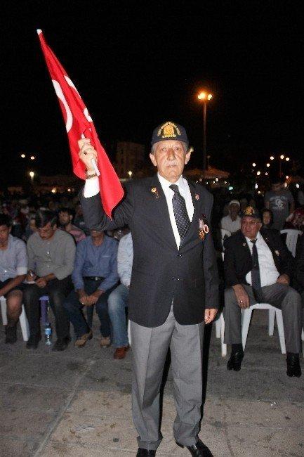 Kıbrıs Gazilerinden demokrasi nöbetine destek