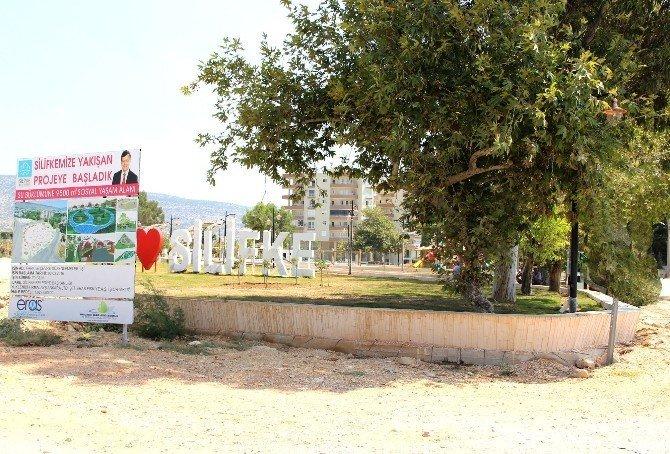 Silifke'de Su Büklümü Parkı'nda sona yaklaşıldı