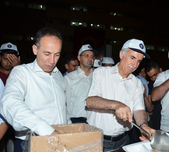 Kırıkkale Üniversitesi'nden Demokrasi Nöbetine Destek