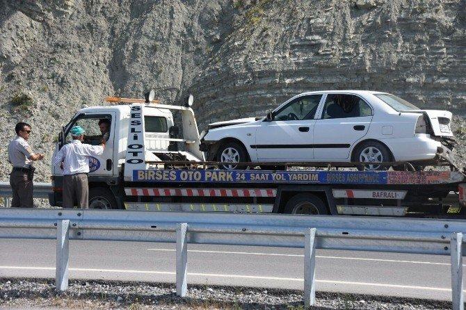 Sinop'ta kaza: 1 yaralı