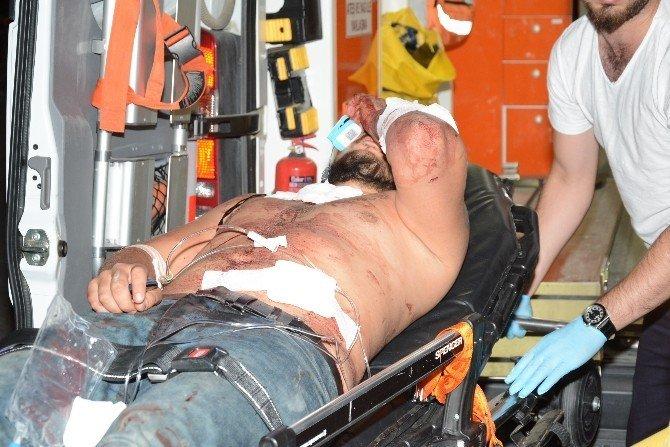 Asker eğlencesinde bıçaklı saldırı: 4 yaralı