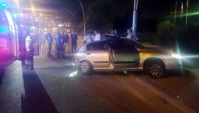 Başkent'te sıkışmalı trafik kazası: 4 yaralı