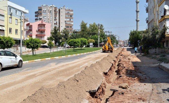 Kepez'de, Gülveren ve Yeşilyurt mahallesine doğalgaz