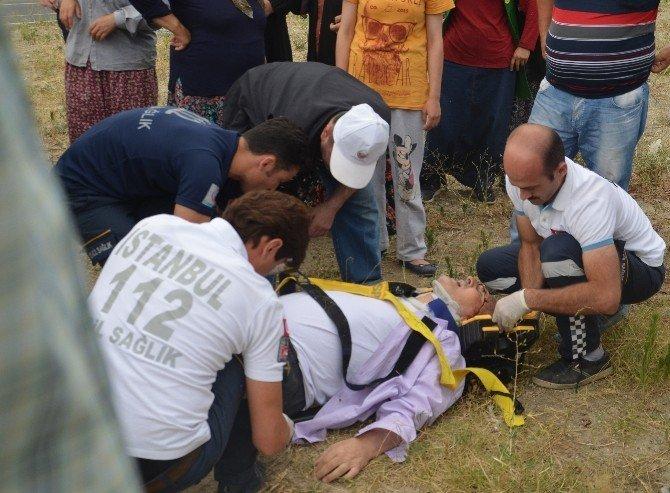 Tosya'da trafik kazası: 2 ağır yaralı