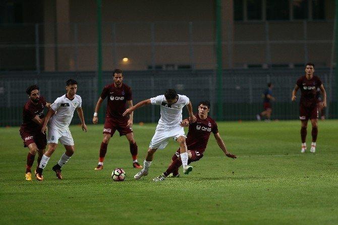 Trabzonspor hazırlık maçını 2-0 kazandı