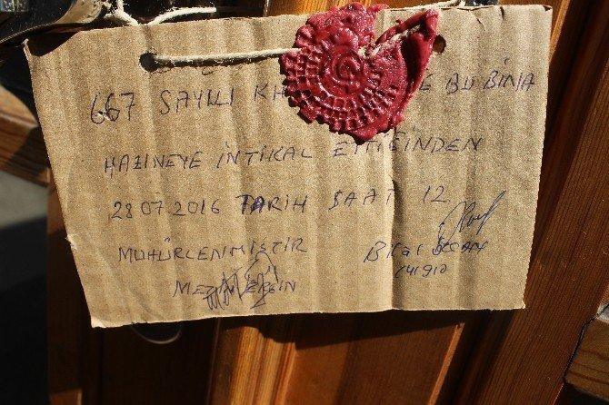 Bartın'daki FETÖ soruşturmasında bazı okul ve dernekler mühürlendi