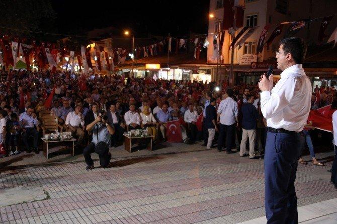 Başkan Subaşıoğlu, Bakan Zeybekci ile Uşak'ta