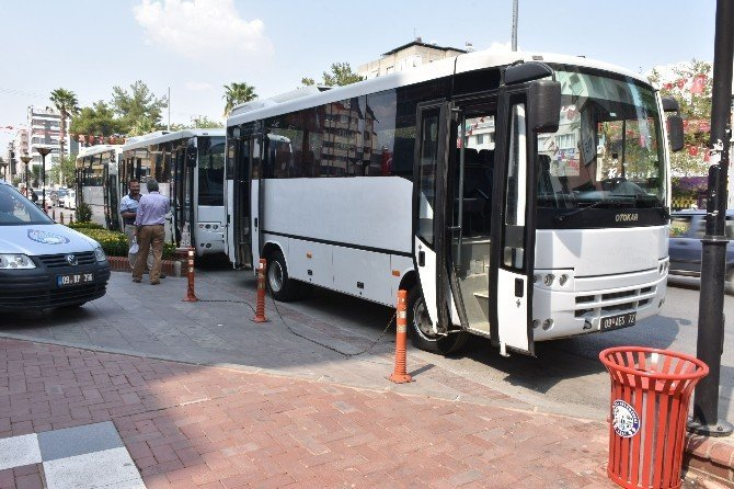 Büyükşehire verilen 3 otobüs Nazilli Belediyesi'ne devredildi