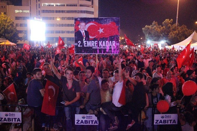 Demokrasi nöbetinde 17'inci gün