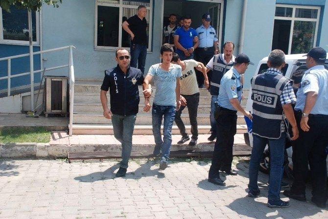 Gediz'de uyuşturucu operasyonunda 6 tutuklama
