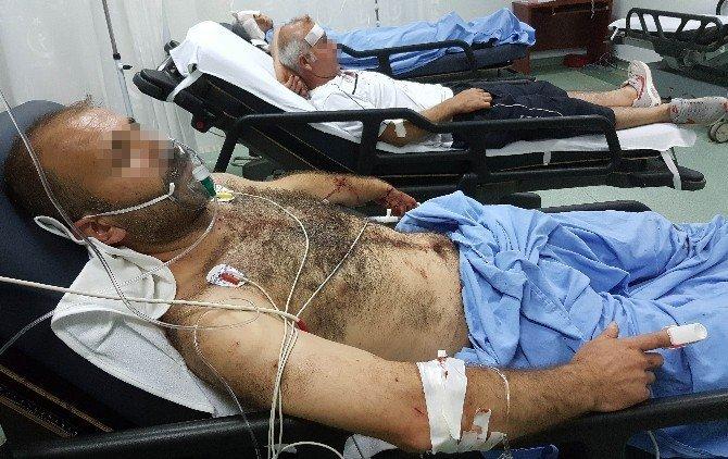 Samsun'da silahlı saldırı: 8 yaralı
