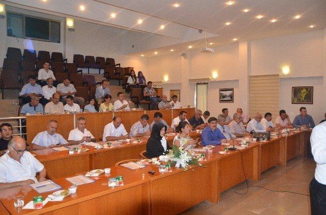 Ereğli Belediye Meclisinden darbe girişimine karşı ortak bildiri