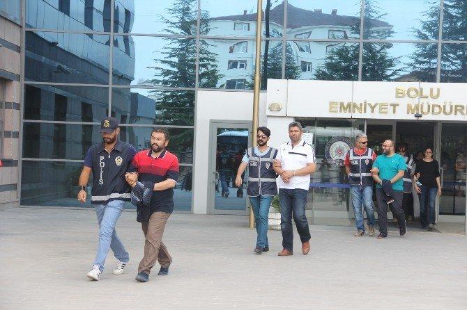 Bolu'da 21 kişi adliyeye sevk edildi