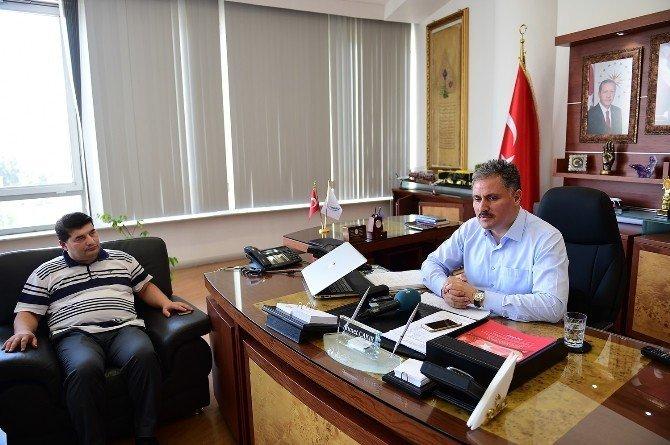 MÜSİAD'dan Başkan Çakır'a teşekkür ziyareti