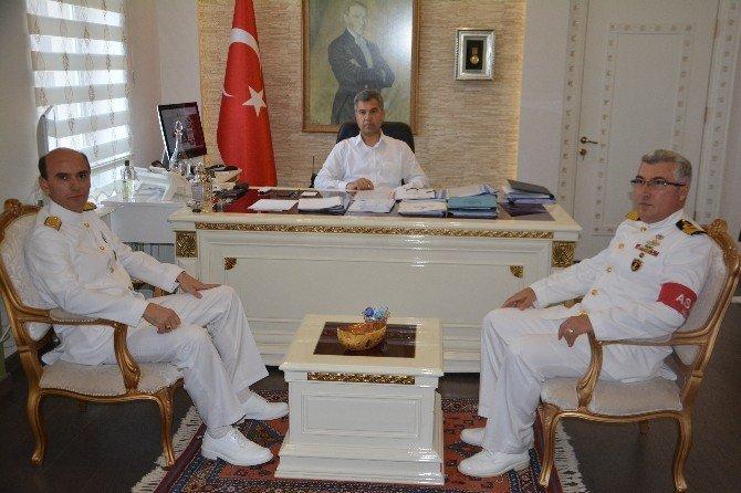 Tuğamiral Mithat Kemal Algül göreve başladı