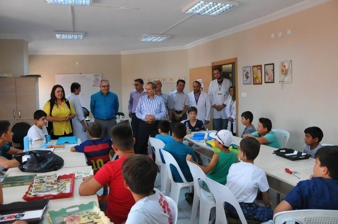 Başkan Akkaya Genç KOMEK öğrencileri ile kariyer günlerinde buluştu