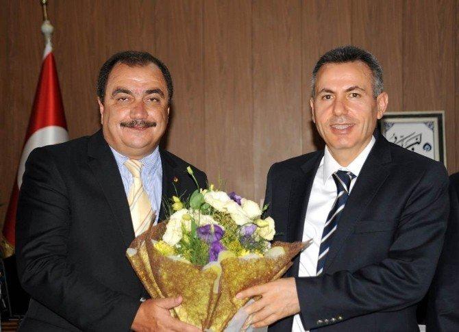 Bilecik TSO Meclisi'nden Vali Elban'a ziyaret