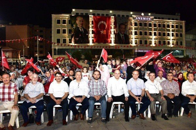 Demokrasi nöbeti 20. gününde devam ediyor
