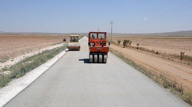 Sarayönü mahalle yollarına 10,5 milyonluk yatırım