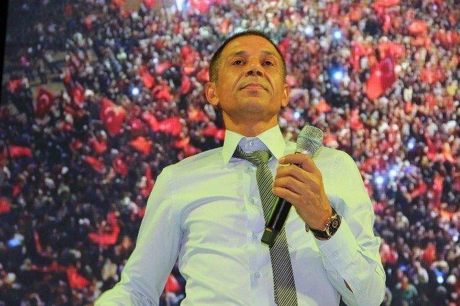 Mustafa Yıldızdoğan Nevşehir'de demokrasi nöbetine katıldı