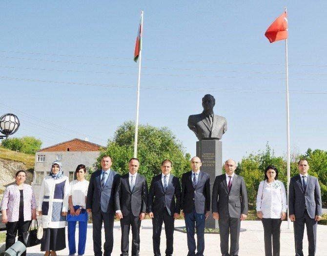 Azerbaycan'ın yeni Kars Başkonsolosu Nuri Guliyev görevine başladı