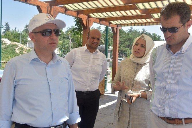 """Çolakbayrakdar, """"Gülpark, Kayseri'nin sosyal yaşamına renk katıyor"""""""
