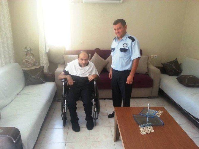 Engelli vatandaşın imdadına zabıtalar yetişti