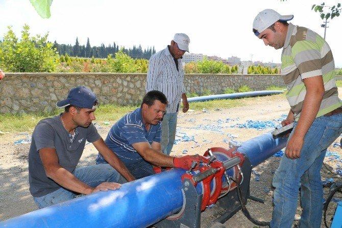 Manisa'da iki yılda 132 bin metre sağlıklı içme suyu hattı yenilendi
