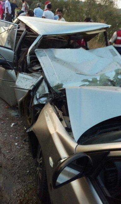 Milas'ta trafik kazası: 2'si ağır 3 yaralı