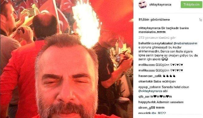 Oktay Kaynarca'dan beğeni rekoru kıran paylaşım