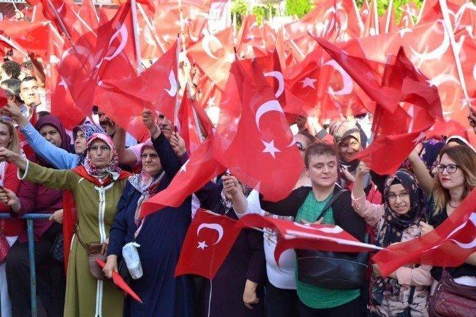 Pazaryeri halkından Demokrasi Nöbetine tam destek
