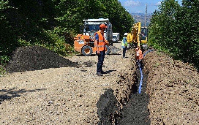 SASKİ'den Alaçam'a 5 milyon liralık içme suyu yatırımı