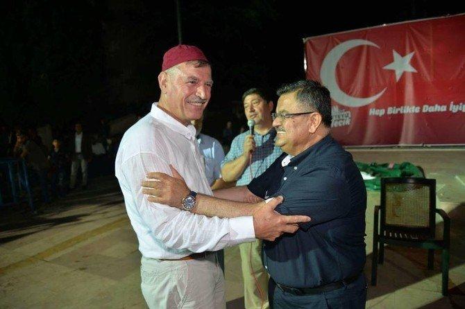 Vezirhan Belediye Başkanı Duymuş kutsal topraklara gitti