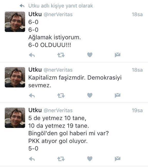 7 şehit sonrası terör örgütlerini övdü, tutuklandı! İşte şok tweetler
