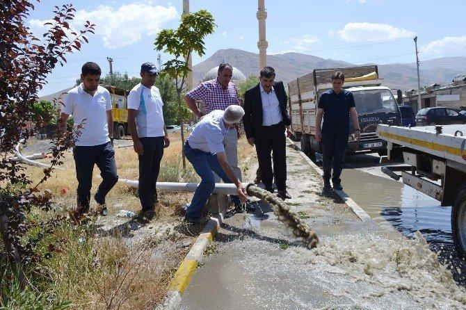Muş'ta su arayışları olumlu sonuç verdi