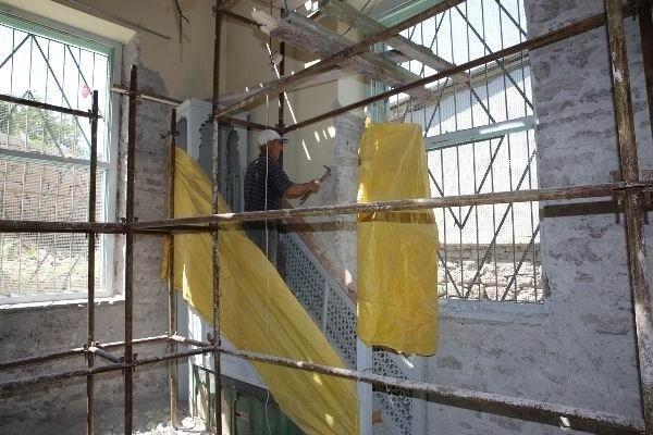 Sille subaşı camii restore ediliyor