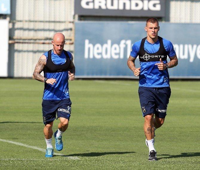 Fenerbahçe, Grasshoppers maçı hazırlıklarını sürdürüyor