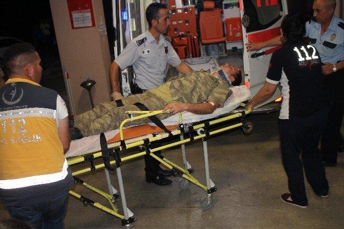 Iğdır'da trafik kazası: 2'si asker 1'i çocuk 5 yaralı