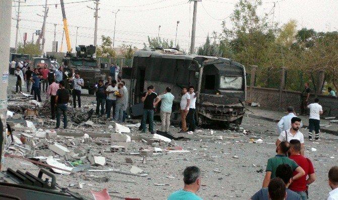 Kızıltepe'deki saldırıda 1 polis şehit oldu