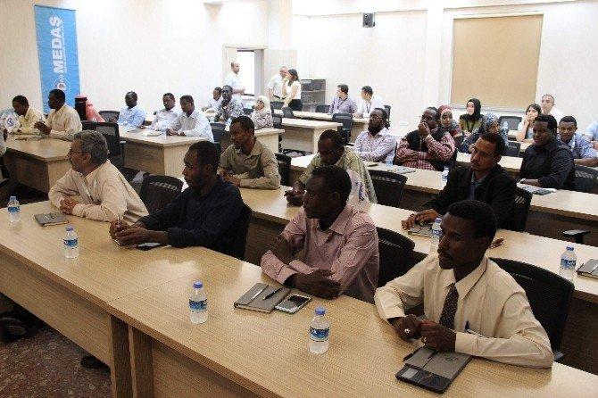 MEDAŞ Sudanlı mühendisleri ağırlıyor