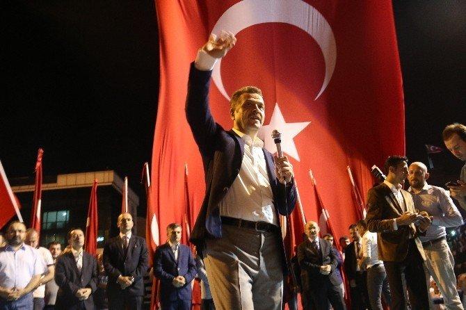 Vali Vasip Şahip nöbetin son gününde Gaziosmanpaşa'da
