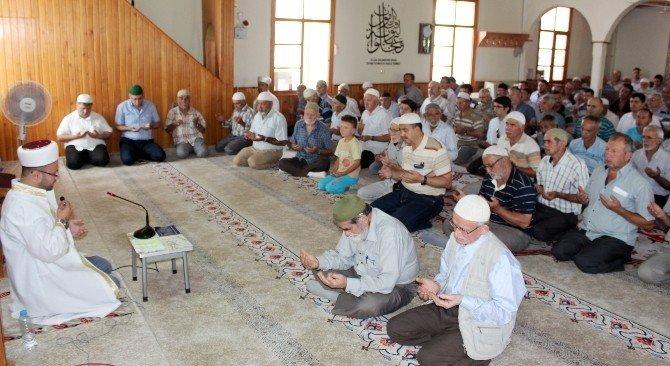 15 Temmuz şehitleri için Sarıcakaya'da mevlit okundu