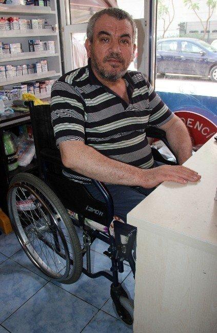 Engelli esnafı gasp etti tutuklandı