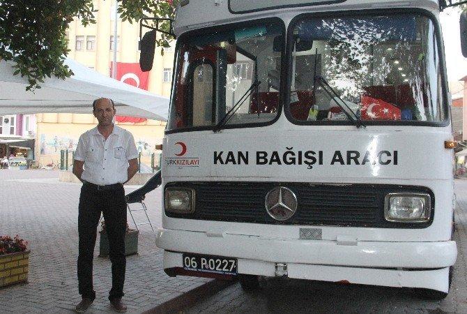 Kızılay, Bozkurt'tan 84 ünite kan topladı